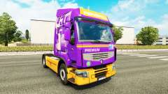 Skin Rensped for tractor Renault