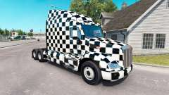 The Checkered skin for the truck Peterbilt