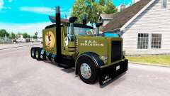 WW2 Style skin for the truck Peterbilt 389
