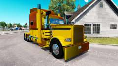 Guzman Express skin for the truck Peterbilt 389
