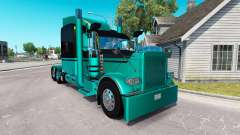 4 Metallic skin for the truck Peterbilt 389