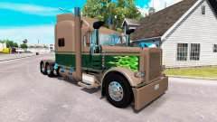 Скин Ken & Barb Workhorse Show на Peterbilt 389 for American Truck Simulator