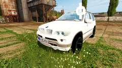 BMW X5 Unmarked Police for Farming Simulator 2017