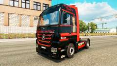 Spencer Hill skin for the truck Mercedes-Benz for Euro Truck Simulator 2