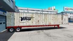 Semitrailer container Vitran