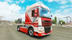 TruckSim skin for DAF truck