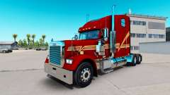 Skin Beggett on the truck Freightliner Classic X