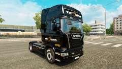 Tegma Logistic skin for Scania truck for Euro Truck Simulator 2