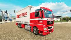H. Essers skin for MAN TGX truck tractor Tandem