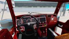 The interior of v1.1 for Kenworth W900