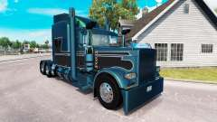 2 Metallic skin for the truck Peterbilt 389
