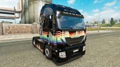 Rainbow Dash skin for Iveco tractor unit