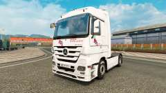Skin BGL for tractor Mercedes-Benz