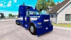 Скин Jack C. Moss Trucking Inc. на Peterbilt 389