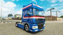 The H. Z. Transport skin for DAF truck
