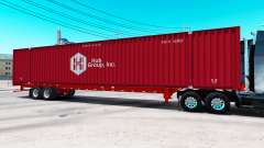Semitrailer container Hub Group Inc