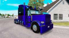 3 Metallic skin for the truck Peterbilt 389