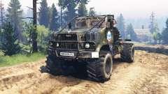 KrAZ-258 v3.0 for Spin Tires