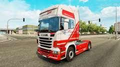 TruckSim skin for Scania truck