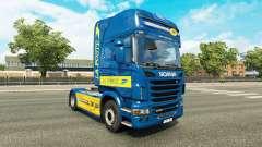 Skin La Poste for tractor Scania