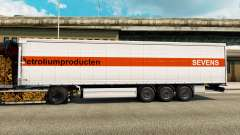 Skin in Sevens semi for Euro Truck Simulator 2