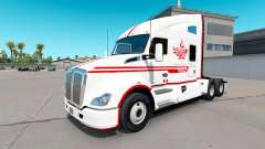 Skin Canadian Express White tractor Kenworth