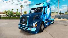 Fire skin for Volvo truck VNL 670
