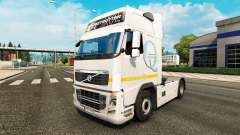 Skin Q-Meieriet for Volvo truck