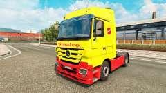 Sinalco skin for Mercedes truck Benz
