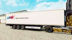 Skin LOXX Logistics for semi-refrigerated for Euro Truck Simulator 2