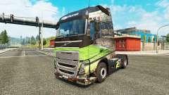 Brasil 2014 skin for Volvo truck