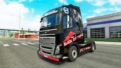 Skin Black Cat Trans for Volvo truck