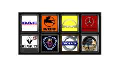 Logos of actual companies for Euro Truck Simulator 2