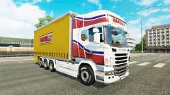 Skin Hakull on tractor Scania Tandem
