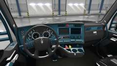 Interior Blue Dial for Kenworth T680