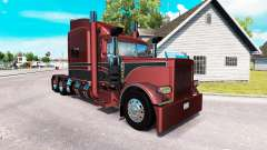 Metallic skin for the truck Peterbilt 389