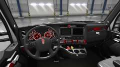 Interior Red Dial for Kenworth T680