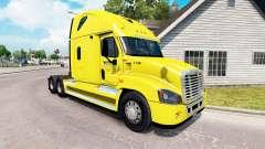 Скин Veriha Trucking на Freightliner Cascadia for American Truck Simulator