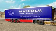 Curtain semitrailer Krone Malcolm