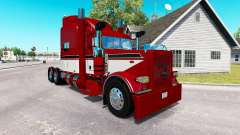 Red Baron skin for the truck Peterbilt 389