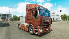 Skin Rusty on the truck Iveco