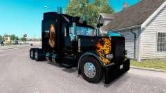 Skin Ghost Rider v2.0 tractor Peterbilt 389