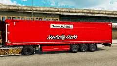 Skin Media Markt for trailers for Euro Truck Simulator 2