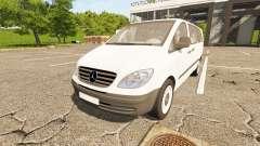 Mercedes-Benz Viano 2005 for Farming Simulator 2017