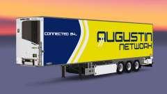 Semi-trailer refrigerator Chereau Augustin Netwo