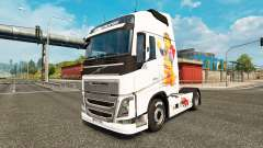 The Lego skin for Volvo truck for Euro Truck Simulator 2