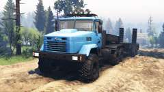 KrAZ-6322 v2.1 for Spin Tires