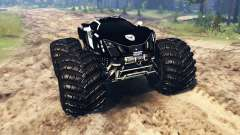 Marussia B2 Police [monster truck] for Spin Tires