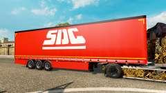 Curtain semi-trailer Krone SDC