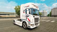 Intermarche skin for Scania truck